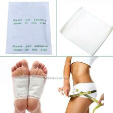10/30/100pcs Sticky Adhesive Detox Foot Pads Patch Natural Plant Toxin Removal