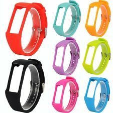 Silicone Watch Strap Wrist Band Sports Fitness Bracelet w/Buckle For Polar A360
