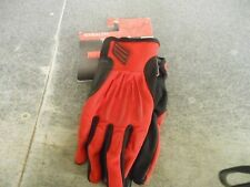 Shift Motocross Mens Stealth Hybrid Gloves Red 70078 New with tags in stock