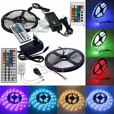 5M 3528 5050 5630 150/300/600LEDs LED Strip Lamp Ribbon Tape Roll(Remote Power)