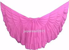 Light Pink Chiffon Gypsy 32 Yard Skirt Tribal Fusion Belly Dance Skirt ATS SKIRT