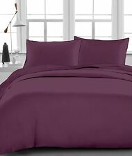 Australias Bedding Collection - 1000 TC 100% Egyptian Cotton Wine Solid