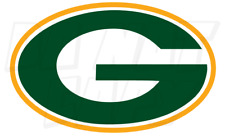 Green Bay Packers Football Vinyl Decal stickers - G and Circle with G Decals