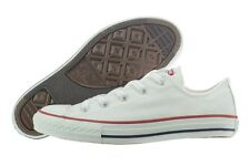 Converse All Star Chuck Taylor OX 3J256 White Canvas Casual Shoes Medium Youth