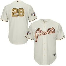SF Giants Buster Posey World Seres NWT Jersey Gold Edition M/L/XL/2XL
