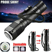 Zoomable 3 Modes 4000LM CREE XML Q5 LED 18650/AAA Flashlight Torch Lamp Light US