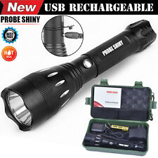 4000LM Zoomable 3 Mode CREE XML Q5 LED 18650 Flashlight Torch Zoom Lamp Light US