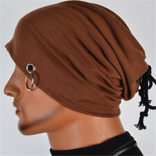 Fashion Winter Men And Women Hip-Hop Turban Hats With Ring Head cap