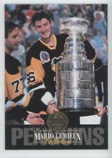 1993-94 Leaf Collection #8 Mario Lemieux Pittsburgh Penguins Hockey Card