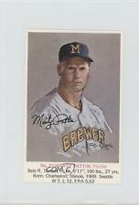 1970 McDonald's Milwaukee Brewers #33 Marty Pattin Baseball Card