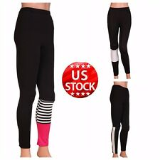 Womens Sportswear Yoga High Waist Trousers Running Pants Fitness Gym Clothes