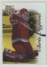1996 Select Certified Mirror Gold #20 Chris Osgood Detroit Red Wings Hockey Card