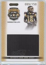 2010 Razor US Army All-American Bowl Jersey Swatch #JS-SP2 Shakim Phillips U.S.