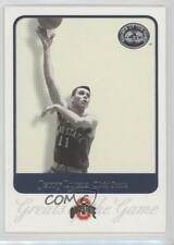 2001 Fleer Greats of the Game 35 Jerry Lucas Ohio State Buckeyes Basketball Card