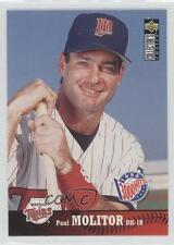 1997 Upper Deck Collector's Choice #155 Paul Molitor Minnesota Twins Card