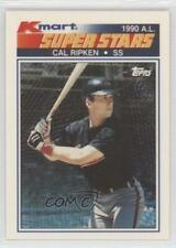 1990 Topps Kmart Superstars Box Set Base #20 Cal Ripken Jr Baltimore Orioles Jr.