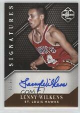 2015-16 Panini Limited Signatures #LS-LW Lenny Wilkens St. Louis Hawks Auto Card