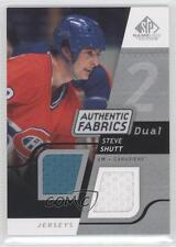 2008 SP Game Used Edition Authentic Fabrics Dual #AF-SS Steve Shutt Hockey Card