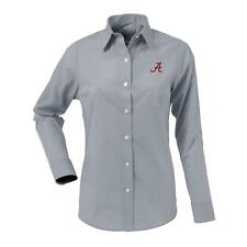 Alabama Crimson Tide Bama Women's Long Sleeve Dress Shirt