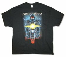Disturbed Biker Scary Guy Black T Shirt New Official