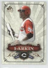 2006 SP Legendary Cuts #65 Barry Larkin Cincinnati Reds Baseball Card