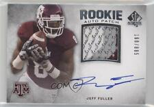 2012 SP Authentic #267 Jeff Fuller Texas A&M Aggies Football Card