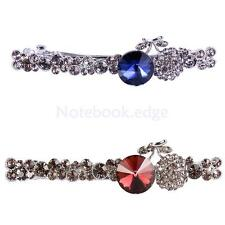 Hot Fashion Large Spring Full Rhinestone Barrette Hair Clip Hairpin Clamp