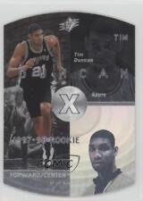 1997-98 SPx Silver #37 Tim Duncan San Antonio Spurs Rookie Basketball Card