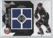 2008 Upper Deck Black Diamond Quad Jerseys BDJ-DW Doug Weight New York Islanders