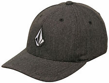 Volcom Boy's Full Stone Hat - Charcoal Heather - New