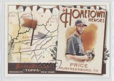 2011 Topps Allen & Ginter's Hometown Heroes HH20 David Price Tampa Bay Rays Card