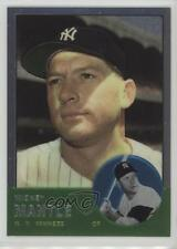 1996 Topps Commemorative Reprints Finest #13 Mickey Mantle (1963 Topps) Card