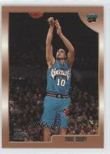 1998-99 Topps #196 Mike Bibby Vancouver Grizzlies RC Rookie Basketball Card