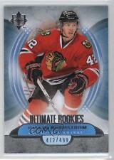 2013-14 Ultimate Collection #113 Joakim Nordstrom Chicago Blackhawks Hockey Card