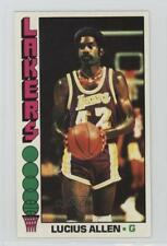 1976-77 Topps #34 Lucius Allen Los Angeles Lakers Basketball Card