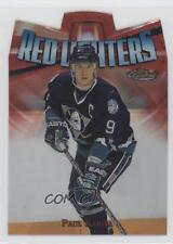 1998 Topps Finest Red Lighters #R3 Paul Kariya Anaheim Ducks (Mighty of Anaheim)