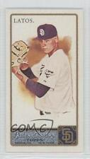 2011 Topps Allen & Ginter's Mini Ginter Back 162 Mat Latos San Diego Padres Card