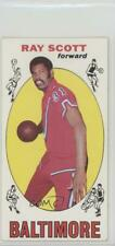 1969-70 Topps #69 Ray Scott Baltimore Bullets RC Rookie Basketball Card