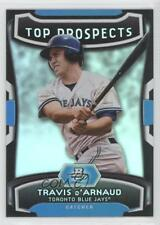 2012 Bowman Platinum Top Prospects #TP-TD Travis d'Arnaud Toronto Blue Jays Card