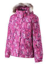 Surfanic Girls Ski Jacket Pink Snowboard Winter Coat New School Childrens Kids