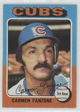 1975 Topps #363 Carmen Fanzone Chicago Cubs Baseball Card