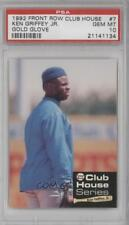 1992 Front Row Club House Series #7 Ken Griffey Jr PSA 10 Seattle Mariners Jr.