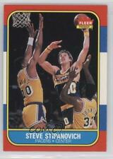 1986-87 Fleer #106 Steve Stipanovich Indiana Pacers RC Rookie Basketball Card
