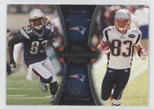 2012 Topps Paramount Pairs #PA-LW Wes Welker Brandon Lloyd New England Patriots