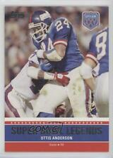 2011 Topps Super Bowl Legends #SBL-XXV Ottis Anderson New York Giants Card