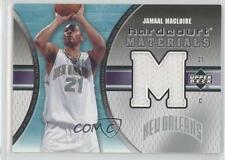2005-06 Upper Deck Hardcourt Materials HM-JM Jamaal Magloire New Orleans Hornets