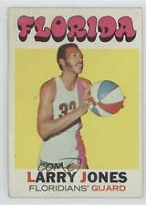 1971-72 Topps #230 Larry Jones Miami Floridians (ABA) RC Rookie Basketball Card