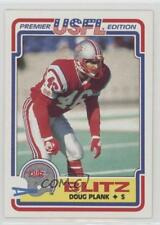 1984 Topps USFL #24 Doug Plank Chicago Blitz (USFL) Football Card