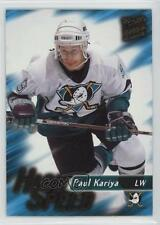 1995-96 Fleer Ultra Extra High Speed #11 Paul Kariya Hockey Card