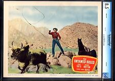 THE UNTAMED BREED-SONNY TUFTS-1948-WESTERN-LOBBY CARD-CGC 8.5-VF+ VF+